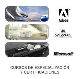 Cursos de Especializaci�n y Certificaciones