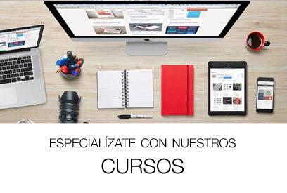 Aulas Abiertas de Dise�o Gr�fico, Interiores, Moda, Producto, Web, �rea Industriales, Arquitectos y Aparejadores, y muchos m�s