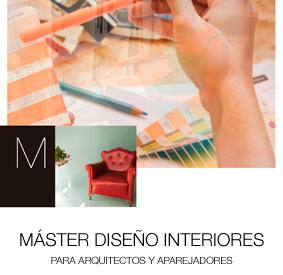 M�ster en dise�o de Interiores Arquitectos y Aparejadores