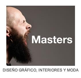 M�steres en Dise�o Gr�fico, Interiores y Moda