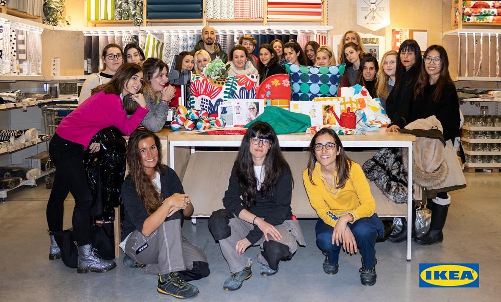 e028264f61 Los alumnos de moda de la Escuela Superior de Diseño de Valladolid crean  las colecciones de la I Pasarela IKEA