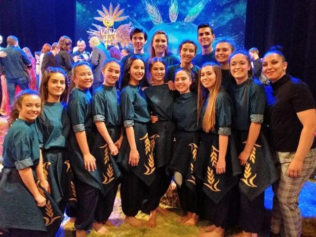 Bailarines de la Escuela Profesional de Danza de Castilla y León